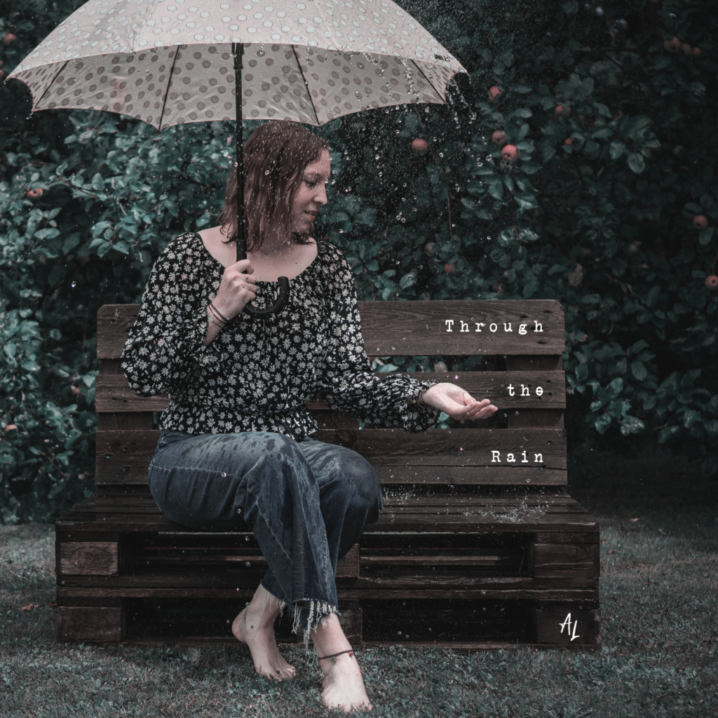 Cover EP Through the Rain by Alissia Laureen